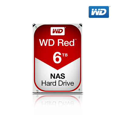 WD Red HDD 6TB