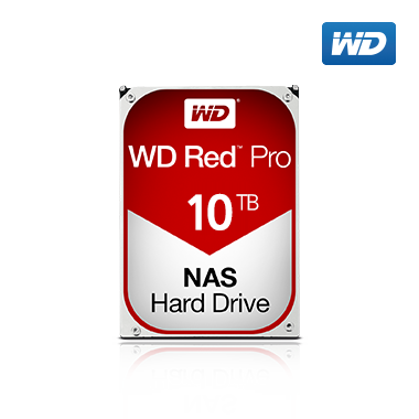 WD Red Pro HDD 10TB
