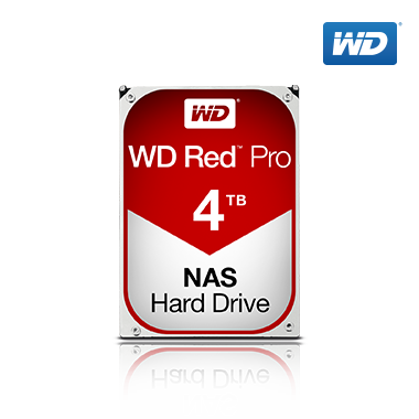 WD Red Pro HDD 4TB