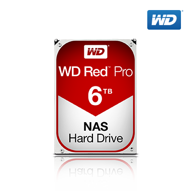 WD Red Pro HDD 6TB